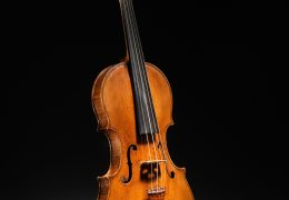 "Andrea Amati (Italian, Cremona ca. 1505–1578 Cremona) ex ""Kurtz"" Violin, ca. 1560 Spruce, maple, ebony; Overall: 57.4cm (22 5/8in.) Label: 20.2 x 57.5cm (7 15/16 x 22 5/8in.) Body length:	35.26 cm (approx. 13-15/16 in.) Lower bouts:	20.15 cm (approx.   7-15/16 in.) Upper bouts:	16.12 cm (approx.   6-5/16 in.) Center bouts:	10.75 cm (approx.   4-1/4 in.)  The Metropolitan Museum of Art, New York, Purchase, Robert Alonzo Lehman Bequest, 1999 (1999.26) http://www.metmuseum.org/Collections/search-the-collections/503517"